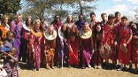Traditional dress on the community project tour, Kenya |  <i>Ian Williams</i>