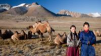 Local herders with their camels |  <i>Cam Cope</i>