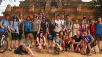 School group at Angkor Wat |  <i>John Nichol</i>