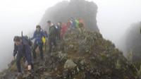 School students making their summit bid on Kilimanjaro |  <i>Eva Moon</i>