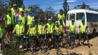 Students cycling in Tasmania |  <i>Holly Van De Beek</i>