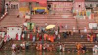 Varanasi locals use the Ganges for multiple purposes |  <i>Rachel Imber</i>