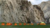 A picturesque camp on our Hidden Valleys of Ladakh trip. |  <i>Sarah Higgins</i>